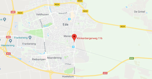 Autohuis Ede van Wirdum B.V. - Route